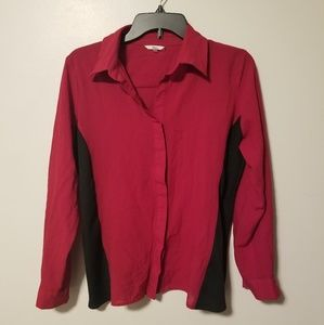 Red Milano women's blouse